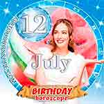 Birthday Horoscope for July 12th