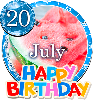 Birthday Horoscope July 20th for all Zodiac signs