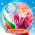 Birthday Horoscope July 28th