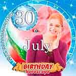 Birthday Horoscope for July 30th