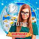 Birthday Horoscope June 12th