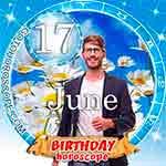 Birthday Horoscope for June 17th