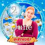 Birthday Horoscope June 2nd