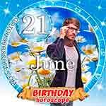 Birthday Horoscope June 21st