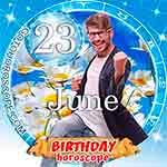 Birthday Horoscope June 23rd