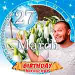 Birthday Horoscope for March 27th