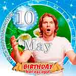 Birthday Horoscope for May 10th