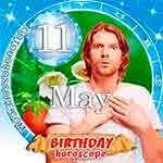 Birthday Horoscope May 11th