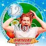 Birthday Horoscope for May 12th