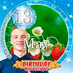 Birthday Horoscope May 13th