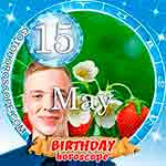 Birthday Horoscope May 15th