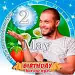 Birthday Horoscope for May 2nd
