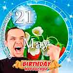 Birthday Horoscope May 21st