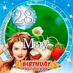 Birthday Horoscope for May 28th