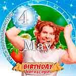Birthday Horoscope May 4th