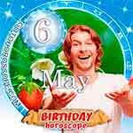 Birthday Horoscope May 6th