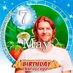 Birthday Horoscope May 7th