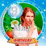 Birthday Horoscope May 9th