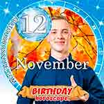 Birthday Horoscope November 12th