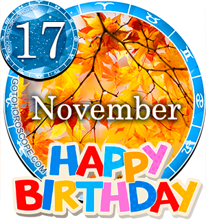 Birthday Horoscope November 17th for all Zodiac signs
