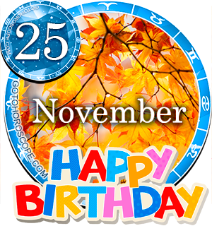 november 25 birthday capricorn horoscope