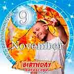 Birthday Horoscope November 9th