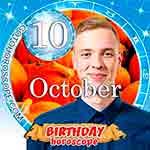 Birthday Horoscope for October 10th
