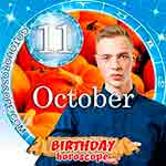 Birthday Horoscope October 11th