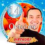 Birthday Horoscope October 14th