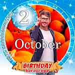 Birthday Horoscope October 2nd