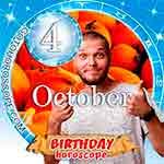 Birthday Horoscope October 4th