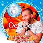 Birthday Horoscope October 5th