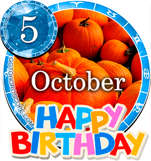 Birthday Horoscope for October 5th