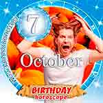 Birthday Horoscope for October 7th