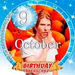 Birthday Horoscope October 9th