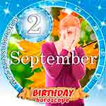 Birthday Horoscope for September 2nd