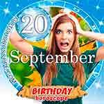 Birthday Horoscope September 20th