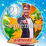Birthday Horoscope September 21st