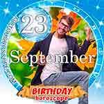 Birthday Horoscope September 23rd