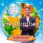 Birthday Horoscope September 25th