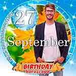 Birthday Horoscope September 27th