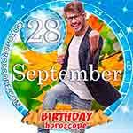 Birthday Horoscope September 28th