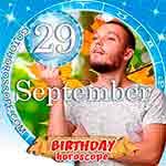 Birthday Horoscope September 29th