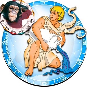 Aquarius Personality born in Monkey year