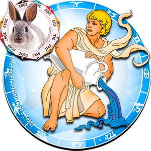 Aquarius Rabbit Chinese Horoscope and Zodiac Personality