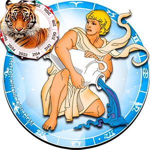 Aquarius Tiger Chinese Horoscope and Zodiac Personality