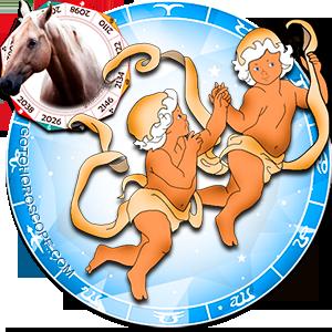 Gemini Personality born in Horse year