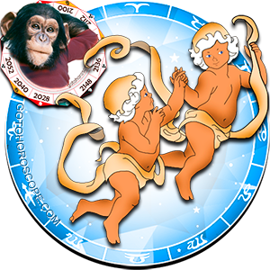 Gemini Monkey Chinese Horoscope and Zodiac Personality