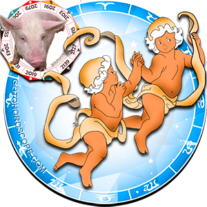 Gemini Pig Chinese Horoscope and Zodiac Personality