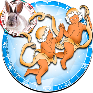 Gemini Rabbit Chinese Horoscope and Zodiac Personality